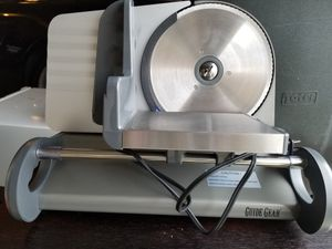 HOLIDAY SPECIAL!!Meat Slicer-BRAND NEW!!!!! OPEN BOX