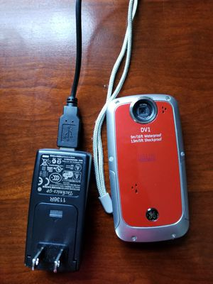 GE waterproof camera