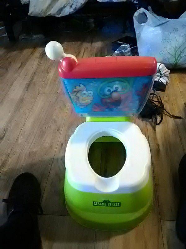 elmo potty train