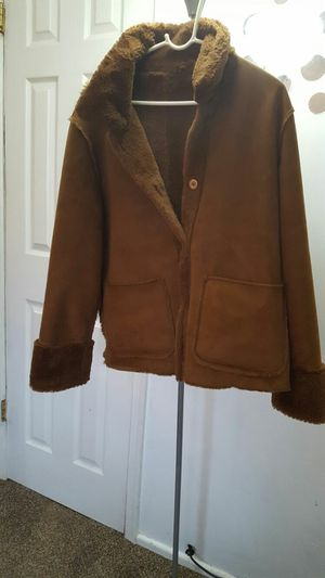 Brown Furry Jacket/Sweater