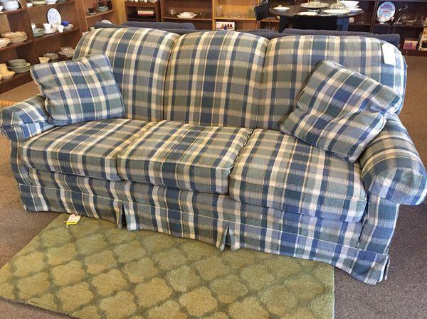 Plaid Sofa plaid sofa clayton furniture in ct