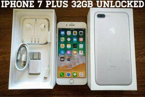 Iphone 7 Plus 32GB UNLOCKED (Like New)