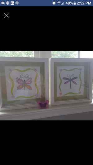 Girls picture frames 3