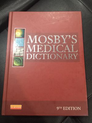 Medical dictionary book