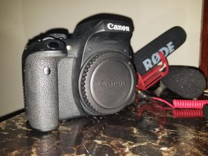 Canon 750d / t6i DSLR TOUCHSCREEN BUILT IN WIFI AND BLUETOOTH function