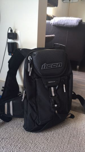 Icon Squad 3 motorcycle backpack, brand new, never used