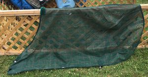 Farnham Companies Green Plaid Mesh Fly Sheet 76""