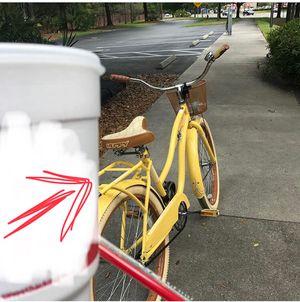 Yellow Huffy beach bike/ bicycle 🚲