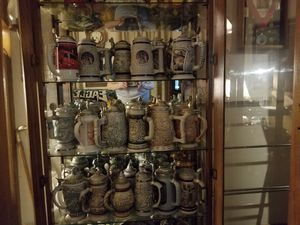 Avon beer steins