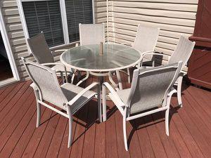 7-Piece Metal Outdoor Dining Set