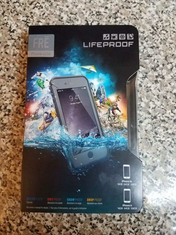 Lifeproof FRE Waterproof Case for iPhone 6/6s (4.7-Inch Version)- Grind (Dark Grey/Slate Grey/Skyfly Blue)