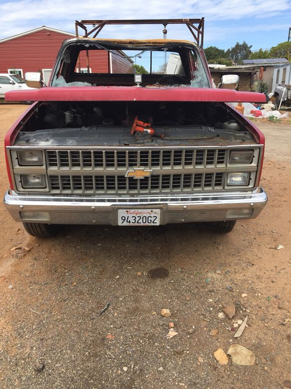 1982 Chevy Diesel 3/4 ton Pickup-fire Damage (Cars & Trucks) in ...