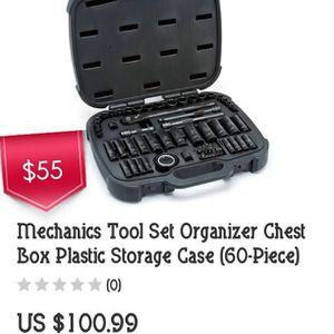 Husky Mechanics tool set 60pc