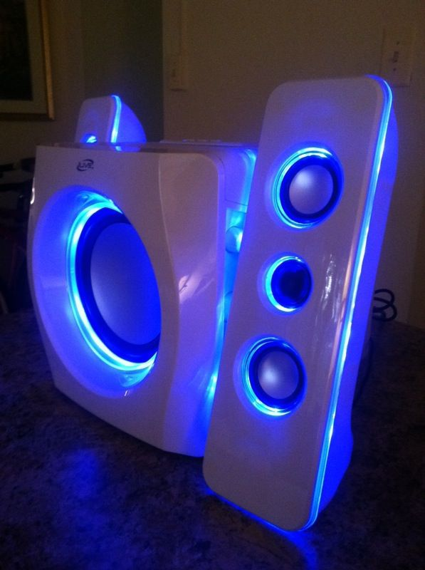iLive portable wireless speakers system