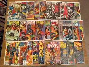 Various Marvel Comics Lot - Wolverine, Cable, X-Factor, etc - 51 Issues