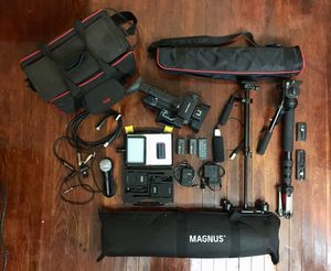 Sony NX-100 HD camcorder with bundle