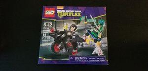 Lego TMNT Karai Bike Escape