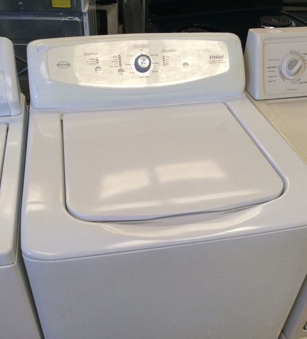 haier super capacity washer. haier super capacity stainless steel drum washer excellent condition t