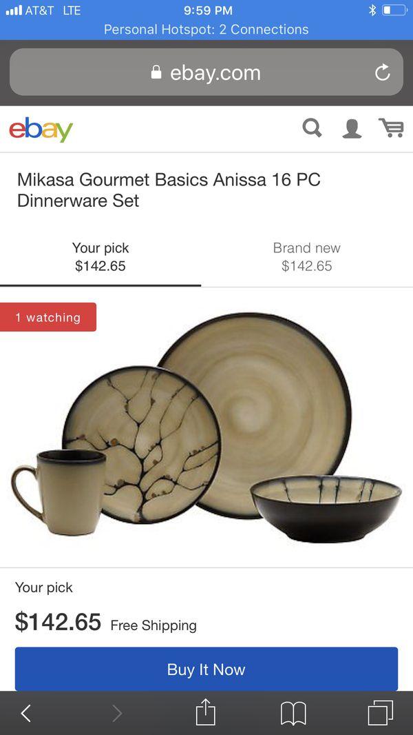 Appealing Dinnerware Mikasa Anissa 16 Pc Set Images - Best Image ...