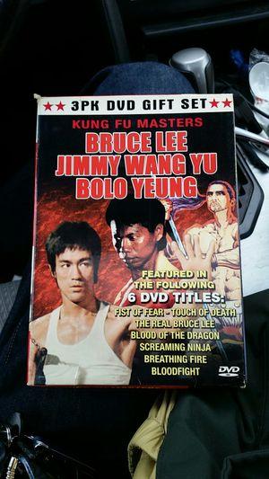 Kung Fu Masters Vintage Boxed set. Very rare!