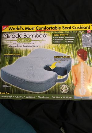 Miracle Bamboo Cushion (As Seen On Tv)