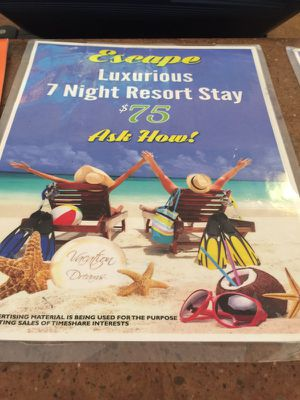 7 nights 5 stars Resorts for 8 people's only 75.00