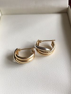 14k small hoops
