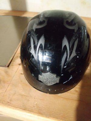 Harley Davidson motorcycle helmet