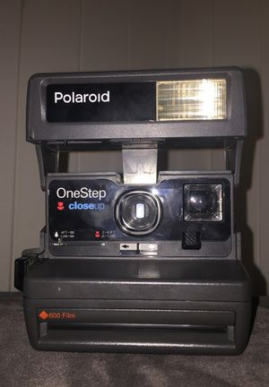Polaroid One Step a Close Up