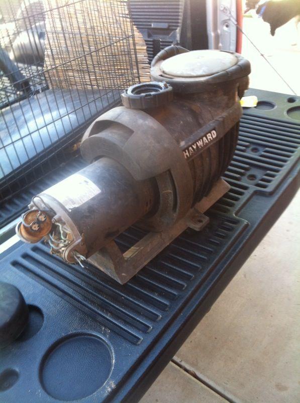 Emerson pool pump motor hayward pump collectibles in for Rebuilt pool pump motors