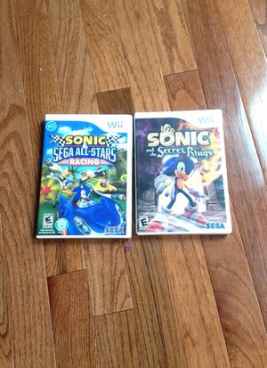 Two sonic games
