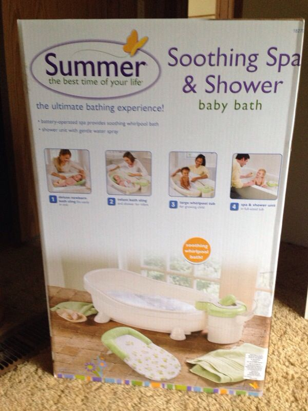 soothing spa and shower baby bath baby kids in