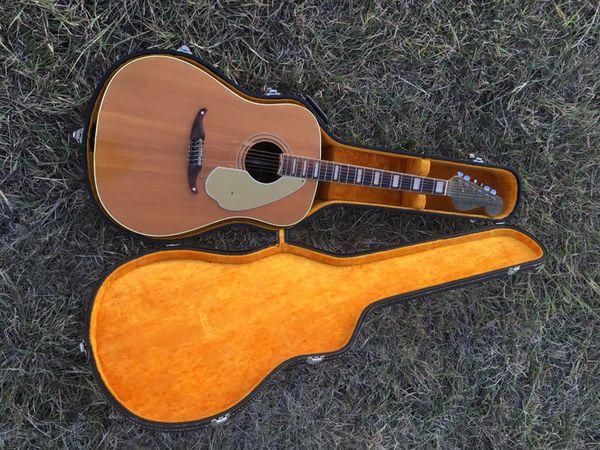 RARE Vintage 1966 67 Fender Wildwood IV Acoustic Guitar