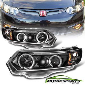 Headlights [Dual CCFL Halo]For 2006-2011 Hond