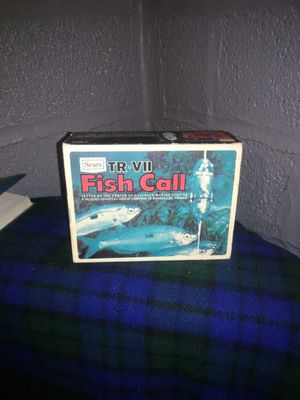 Sears TR VII Fish Call
