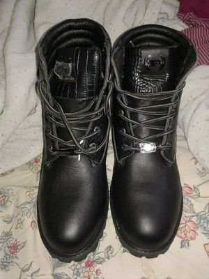 Black NEW Work Boots