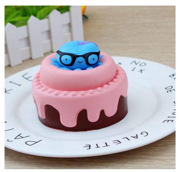 46 Squishies Jumbo Slow Rising Birthday Cake Cream Scented Soft