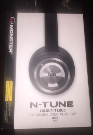 N-Tune colour IT Loud headphone monster