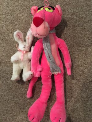 NEW pink panther and bunny plus more $20 ALL