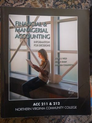 Financial and Managerial Accounting Textbook