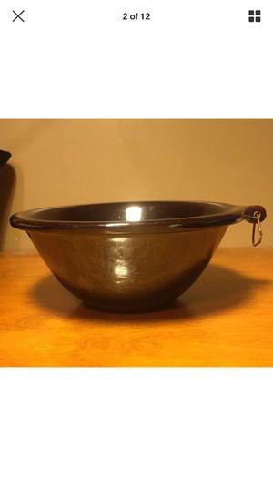 Vintage Rockingham brown bowl
