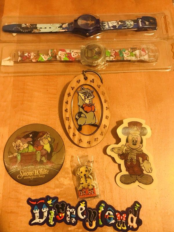 Lot Of Vintage Disney Items