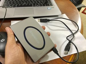 Portable external hard drive (60gb)