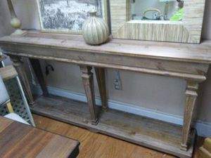 long hall table. 6ft Long Hall Table/Console Table