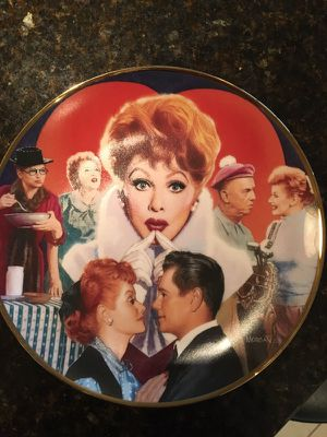 Lucille Ball commemorative plate