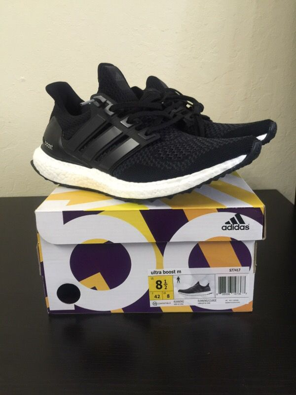1f40aac96cbcc ... Adidas ultra boost core black size 8.5 ...