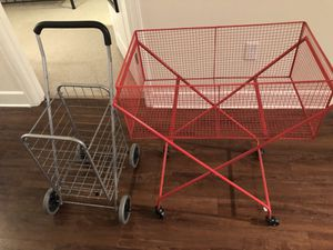 2 shopping carts