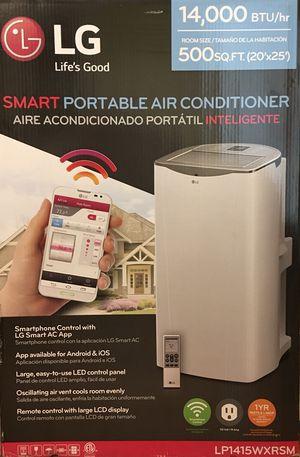 LG Smart Portable Air Conditioner LP1415WXRSM