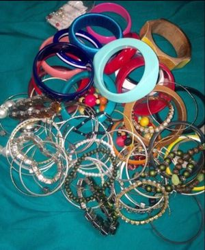 Misc. bangles & bracelets & Jewelry stand