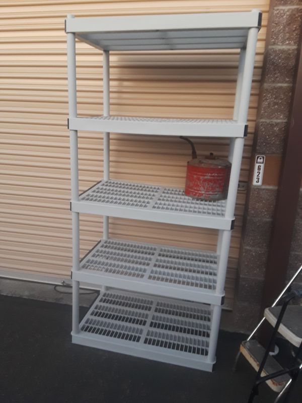 Heavy Duty Plastic Shelving Home Garden in Puyallup WA